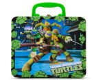 Teenage Mutant Ninja Turtles Lunch Tin w/ 48-Piece Puzzle - Green/Multi 1