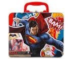 Batman v Superman Lunch Tin w/ 100-Piece Puzzle - Red/Multi 1