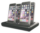 4+2 Charge Hub For Apple Devices - Black 1