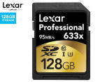 Lexar Professional Class 10 SDXC 128GB Card 1