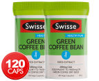 2 x Swisse Green Coffee Bean 60 Caps 1