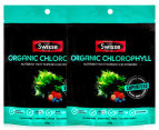 2 x Swisse Organic Chlorophyll Superfood Powder 100g 1