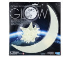 Glow-In-The-Dark Moon & Stars Wall Stickers 1