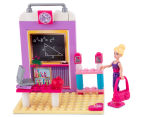 Barbie 2-in-1 Prima Ballerina to School Teacher Playset 3