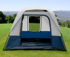 4 Person Family Camping Tent - Navy/Grey 3