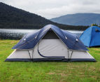 6 Person Family Camping Dome Tent - Navy/Grey 3