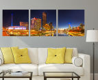 Yarra River 50x50cm 3-Part Canvas Wall Art Set 2
