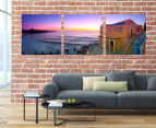Coogee Beach 50x50cm 3-Part Canvas Wall Art Set 2