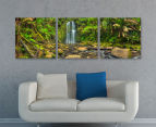 Beauchamp Falls 50x50cm 3-Part Canvas Wall Art Set 2