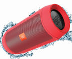 JBL Charge 2+ Portable Wireless Bluetooth Speaker - Red 5