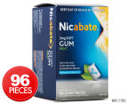 Nicabate 2mg Soft Regular Strength Gum Mint 96pk 1
