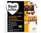 Food For Health Mixed Chia Bars 24pk 2