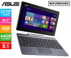 ASUS Transformer Book T100AF Laptop/Tablet REFURB -Black 1