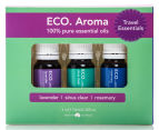 ECO. Aroma Trio Travel Essential Oils Value Gift Box 1