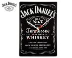 Jack Daniel's 35x23cm Glass Clock - Black 1