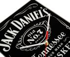 Jack Daniel's 35x23cm Glass Clock - Black 3