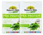2 x Nature's Way Super Foods Pea Protein Isolate Powder Vanilla 200g 1