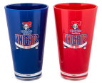 NRL Newcastle Knights 2 x Pack Tumbler - Blue/Red 2
