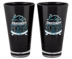 NRL Penrith Panthers 2 x Pack Tumbler - Black 2