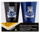 NRL Canterbury Bulldogs 2 x Pack Tumbler - Black/Blue 6