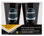 NRL Penrith Panthers 2 x Pack Tumbler - Black 6