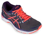 ASICS Women's GEL-Excite 4 Shoe - Shark/Flash Coral/Parachute Purple 2