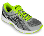 ASICS Men's GEL-Contend 3 Shoe - Midgrey/Black/Safety Yellow 2