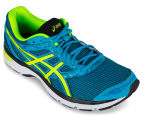ASICS Men's GEL-Excite 4 Shoe - Island Blue/Safety Yellow/Black 2