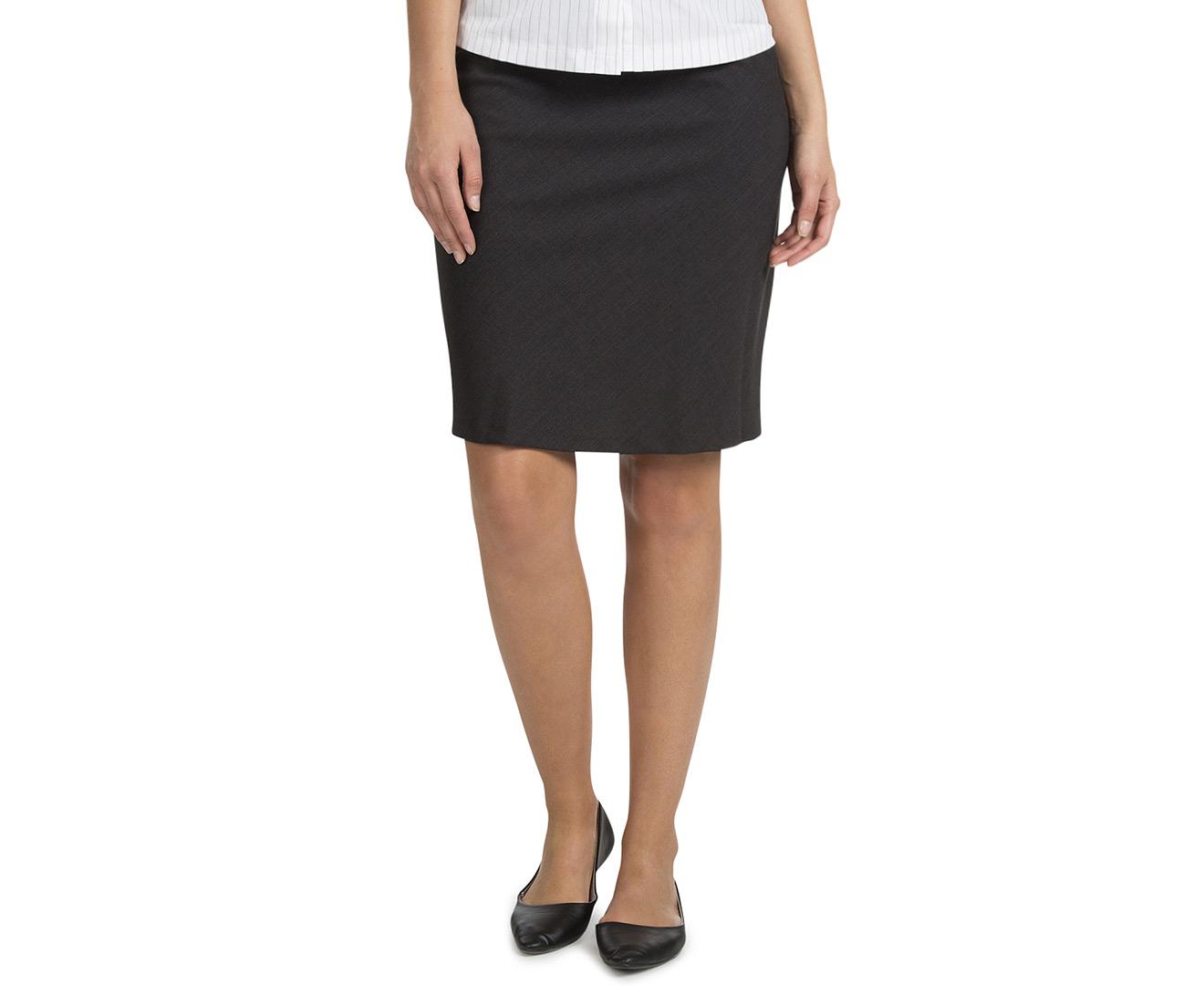 stylecorp s bias cut a line skirt charcoal ebay