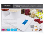 Savannah Prodigy Kitchen & Calorie Scale - Cranberry 6