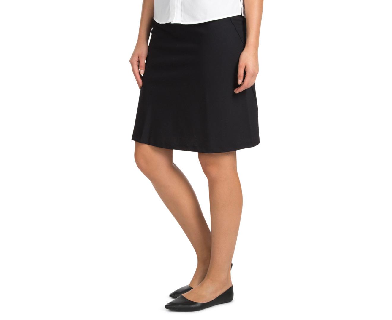 stylecorp s bias cut a line skirt navy ebay