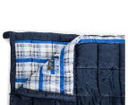Caribee Safari Double Sleeping Bag - Navy 4