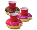 BigMouth Inc. Assorted Donut Drink Floats 3-Pack - Multi 1