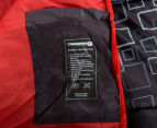 Caribee Moonshine +5C Sleeping Bag - Charcoal/Flame Red 5