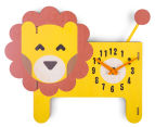 Louie Lion Clock - Yellow/Brown 1