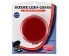 Aussie Coin Coffer - Red 5