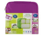 Slim-Line Lunch Box - Purple 1