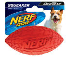NERF Dog Small Squeaker Football - Red 1