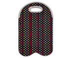 Avanti Insulated Twin Bottle Tote - Confetti 1