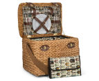Avanti 4 Person Picnic Basket - Light Brown Willow/Bathing Box 1
