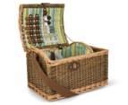 Avanti 2 Person Picnic Basket - Natural Willow/Seaside 2