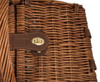 Avanti 2 Person Picnic Basket - Light Brown Willow/Bathing Box 5