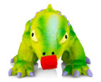 Pet Safe Squeeze Meeze Jr. Latex Chameleon - Green 2