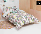 KAS Kids Billie Single Bed Duvet Cover Set - Multi 1