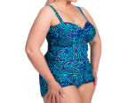 Sea Star Women's Tonia One Piece Swimsuit - Blues Animal 3