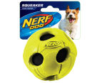NERF Dog Medium Wrapped Classic Squeaker Tennis Ball - Green 1