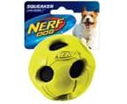 NERF Dog Medium Wrapped Classic Squeaker Tennis Ball - Green 1