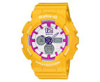 CASIO Women's Baby-G Duo 45mm Watch - Yellow 1