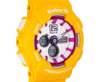CASIO Women's Baby-G Duo 45mm Watch - Yellow 2