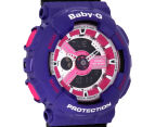 CASIO Women's Baby-G Duo 45mm Watch - Black/Purple 2
